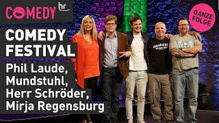 hr Comedy Festival vom 07.01.2020 mit Mirja, Phil, Mundstuhl & Herrn Schröder