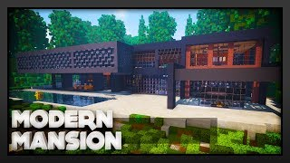 Minecraft - Unique Modern Mansion