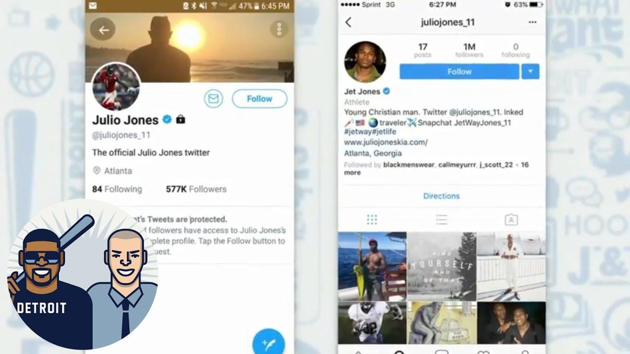 Julio Jones unfollows Falcons teammates and deletes Falcons pics from IG | Jalen & Jacoby | ESPN