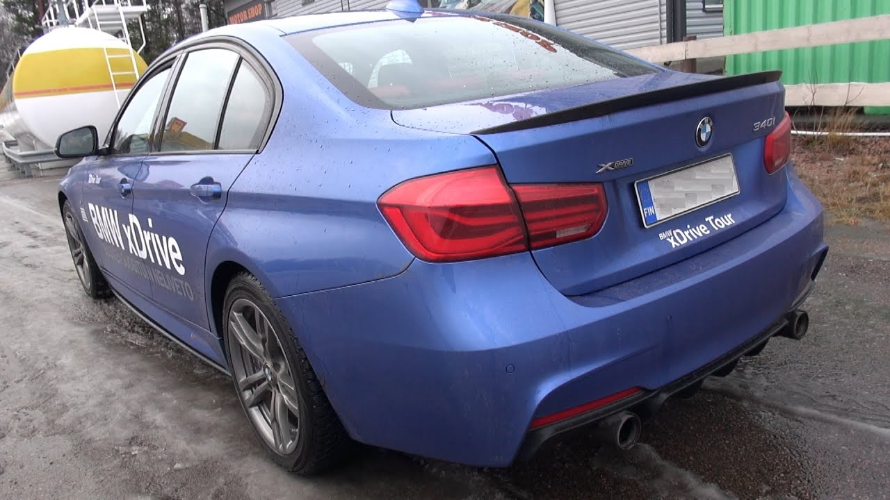 2016 bmw 340i m performance xdrive f30 sound revs. Black Bedroom Furniture Sets. Home Design Ideas