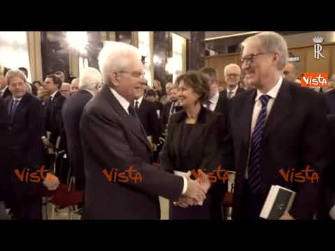 Mattarella all\'insediamento del nuovo Presidente della Corte dei Conti