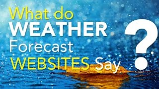 Chennai floods: What do weather forecast websites say?
