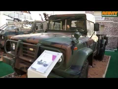 Sudan defense industry has developed a full range of military combat armoured vehicles IDEX 2015