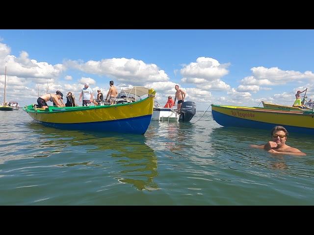 Pinasses à Voile Championnat du monde  Bassin d'Arcachon - Equipe du Cap Ferret Ep 03