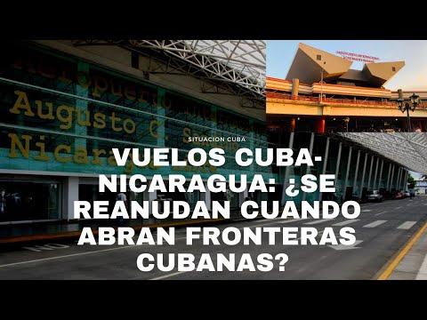 VUELOS CUBA-NICARAGUA: ¿CUÁNDO SE REANUDAN A UN PAÍS MERCADO Y TRAMPOLÍN PARA MIGRANTES CUBANOS?