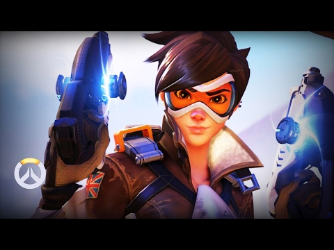 LIVE: TOP GRANDMASTER Tracer Main Season High 4525sr /w #1 PS4 Widow | Overwatch Competitive Ranked