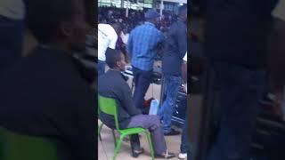 Lawrence Mulwa performing Tumebarikiwa in Moi University - 2016 Cultural Week