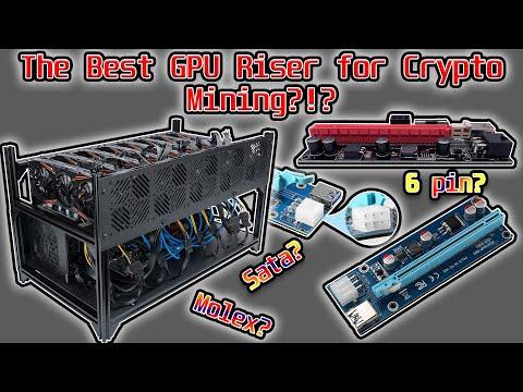 Best Crypto Mining Risers - GPU Risers