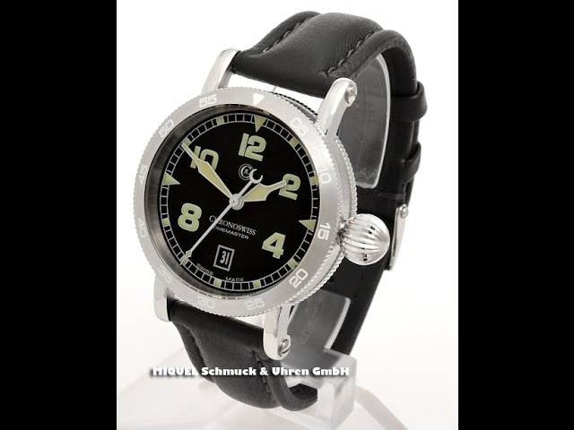 Chronoswiss Timemaster Automatik Ref. CH2853 BK (7332)