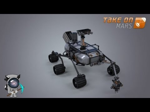 Take On Mars: В поисках инопланетной жизни.