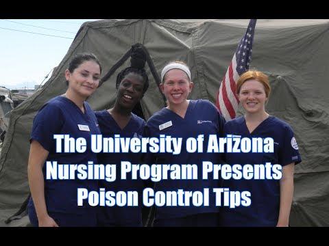 The University of Arizona Nursing Program Presents Poison Control Tips – Tillmann News Information