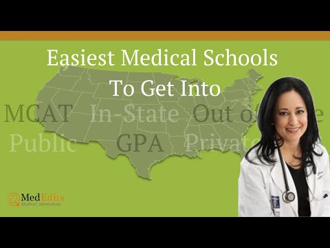 Easiest Medical Schools To Get Into And Where To Apply To Medical School   MedEdits