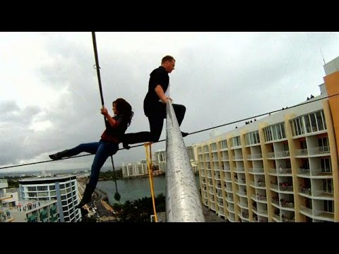Walking a Wire with Your Mother | Skyscraper Live