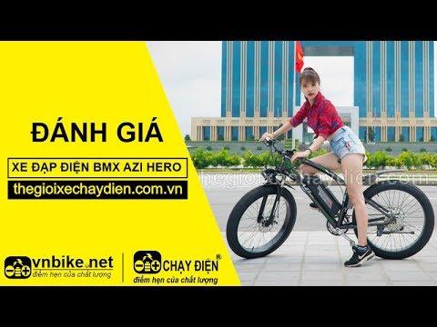 Đánh giá xe đạp điện Bmx AZI Hero