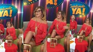 Roxana Castellanos Upskirt Blancos ♥️