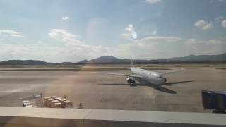 American Airlines A333 landed in Athens Greece