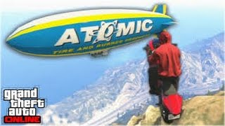 GTA 5 - ONLINE LUCKY STUNTS & EPIC HAMC CREW MEET