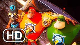 Капитан Qwark встречает Captain Quantum Scene 4K ULTRA HD - Ratchet And Clank Rift Apart