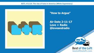 How to Argue - Love and Radio - Air Date 2-11-17