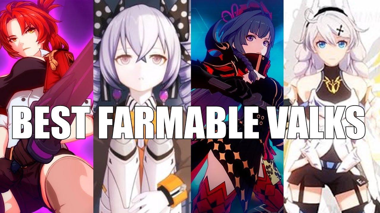 Honkai Impact 3 - Best FREE Characters! (Farmable Valkyrja Guide)