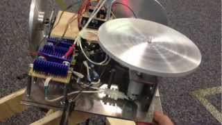 Reaction Wheel Actuated Satellite Dynamics Test Platform