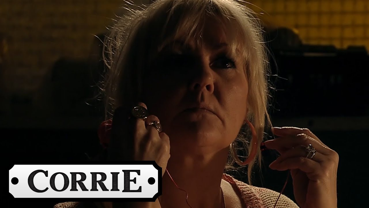 Coronation Street A Shadowy Figure Sabotages The Factory Roof Youtube