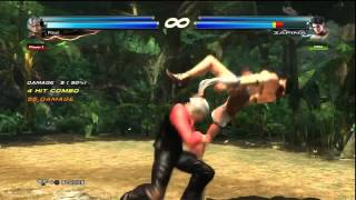 TEKKEN TAG 2 - Lee & Lars Combo Exhibition