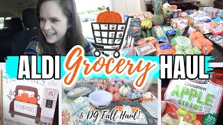 FALL ALDI GROCERY & DOLLAR GENERAL HAUL! | SHOP WITH ME!