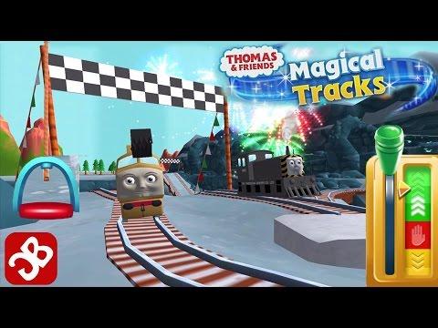 Model Railroad Toy Train -Thomas & Friends: Magical Tracks – Unlock All Kids Train Set – Best App for Kids