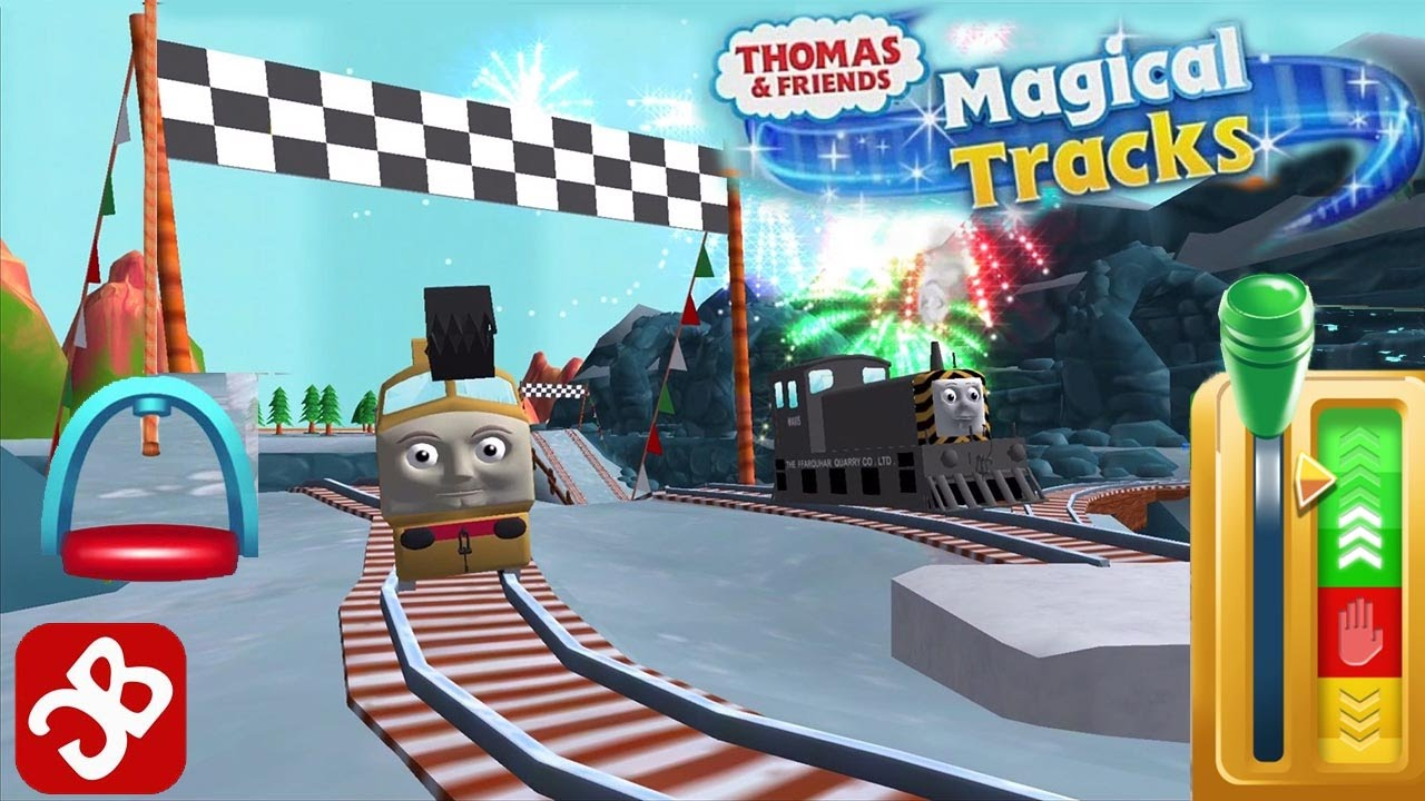 Thomas & Friends: Magical Tracks – Unlock All Kids Train Set – Best App for Kids