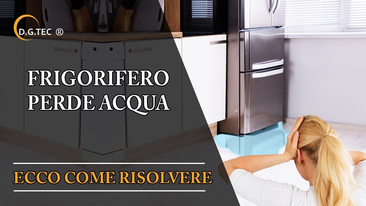 Frigorifero Rex Electrolux Aeg perde acqua - YouTube