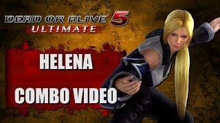 DOA5 ULTIMATE (Ver. 1.07) HELENA - COMBO VIDEO