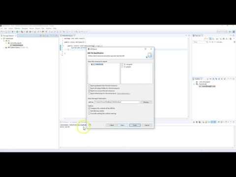 SNHU Export Java Files to JAR