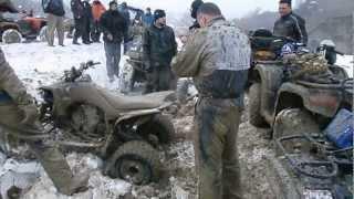 Iesire ATV Romania Ramnicu Sarat 16.02.2013 part.6