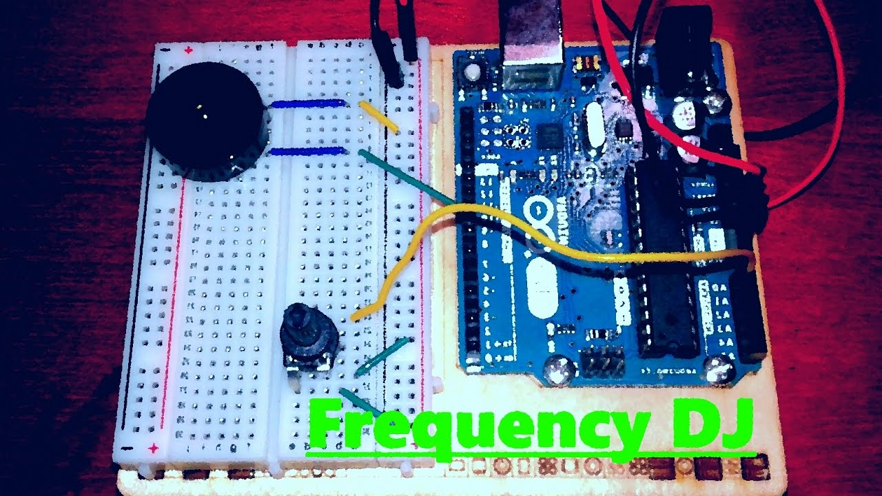 Frequency dj creative project arduino youtube