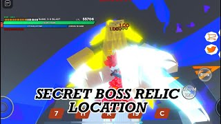 OPM: SAITAMANIA   How to get Secret Boss Relic all signs location
