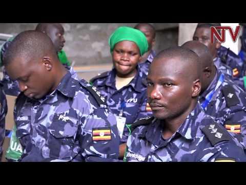Poliisi egamba ekoze ky'amaanyi okukuuma  emirembe mu Somalia