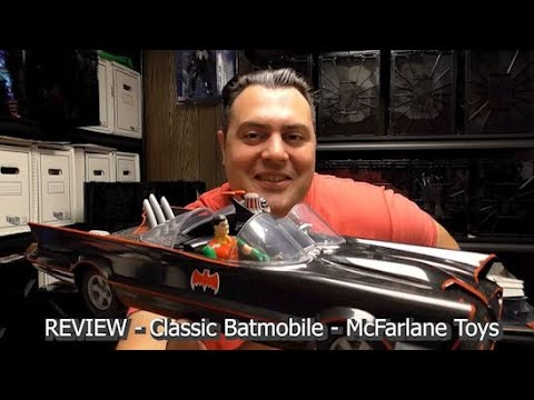 REVIEW - Batmobile - Classic TV Series - by McFarlane Toys