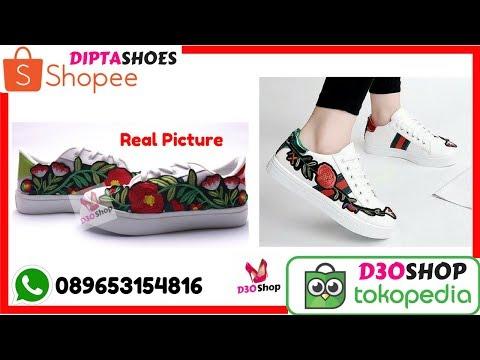 Jual Sepatu Jongging Aerobik Wanita Online Murah | Sepatu Jogging Aerobik Wanita 089653134816
