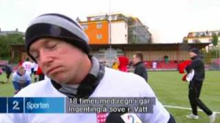 World record - longest game of football ever