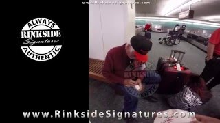 Gaylord Perry Signing Autographs for Rinkside Signatures