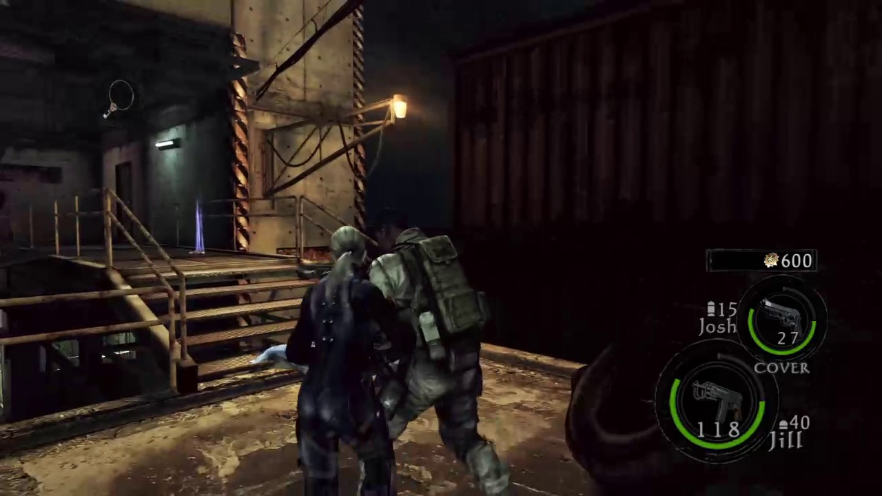 Resident Evil5 Chris Redfield S T A R S Outfit In The Mercenaries