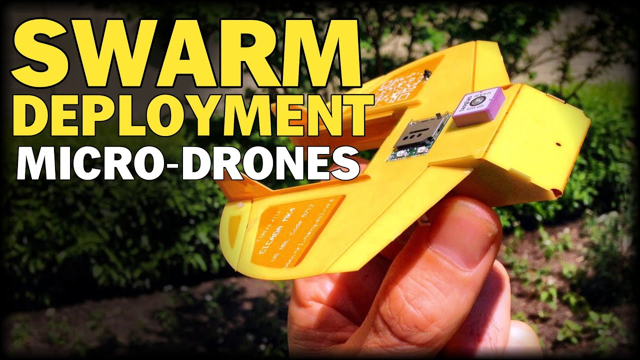 US MILITARY BUILDING MICRO DRONES FOR SWARM DEPLOYMENTS