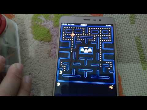 Playing Pac-man With Old Joystick