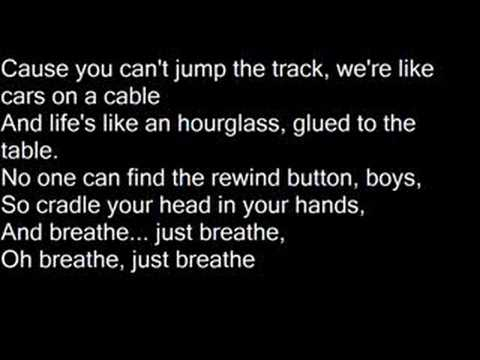 Just Breathe - Anna Nalick [Lyrics]