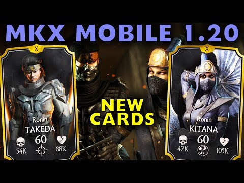 MKX Mobile Update 1.20. New Characters. Gameplay + Review. thumbnail