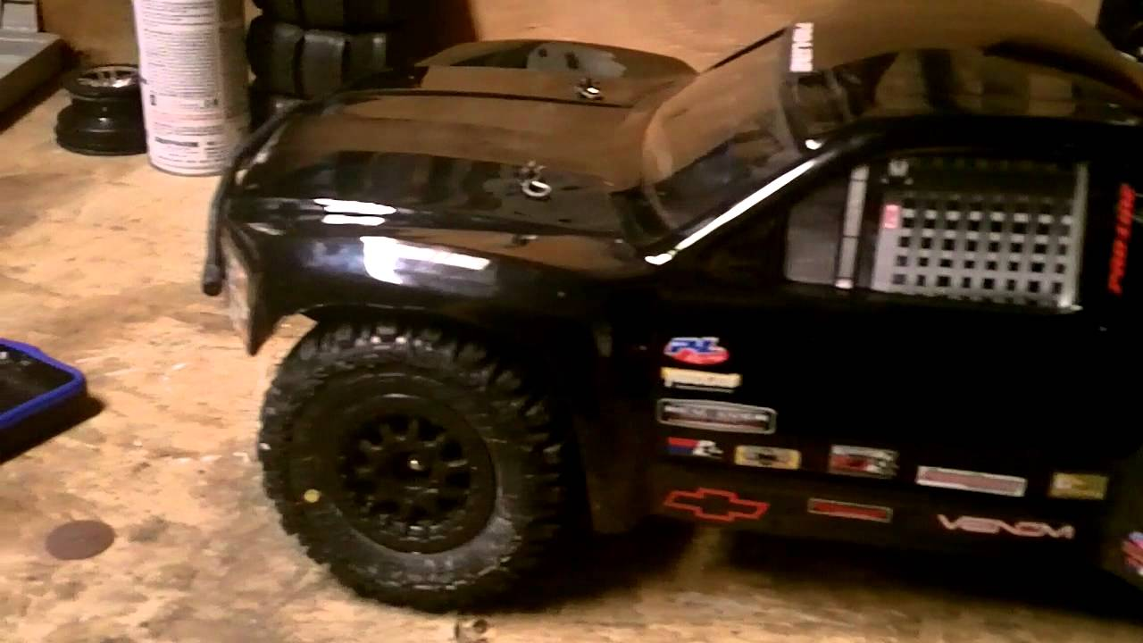 Traxxas Slash 4x4 proline racing chevy silverado body review