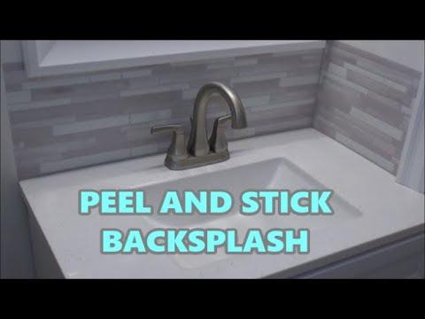 diy peel and stick backsplash smart tiles