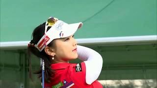 golf swing セキユウティン Yuting Seki 石昱婷 スマイル(^^)超簡単④ セキユウティン 検索動画 18