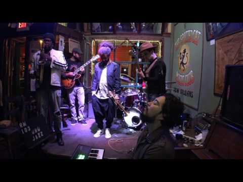 Pat Casey & The New Sound At Spotted Cat April 25, 2017